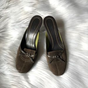 Suede Cole Haan Heeled Mules